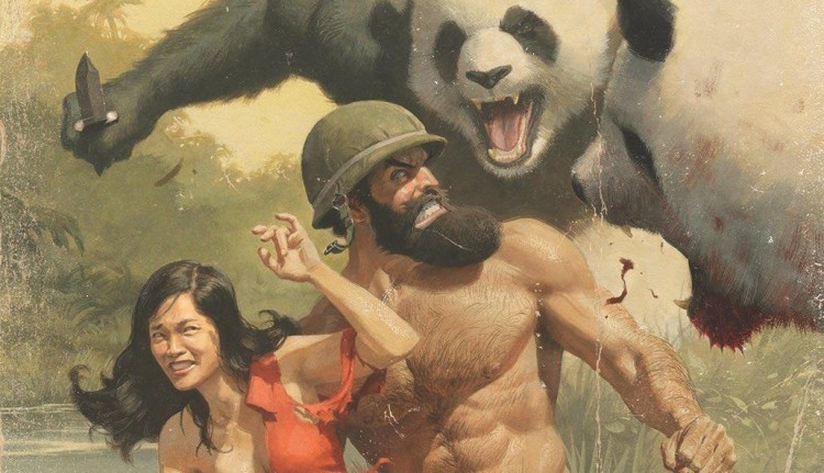 SHIRTLESS BEAR-FIGHTER!, el Hombre y la Tierra