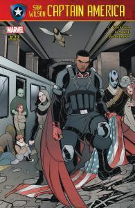 2a) Sam Wilson Captain America #22 - Page 1