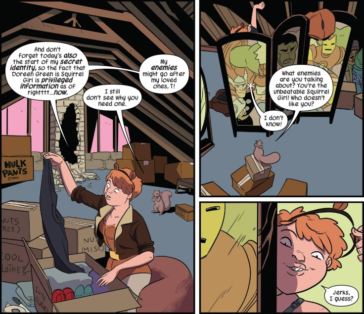 The Unbeatable Squirrel Girl - Squirrel Power V1 (2015) - Page 8