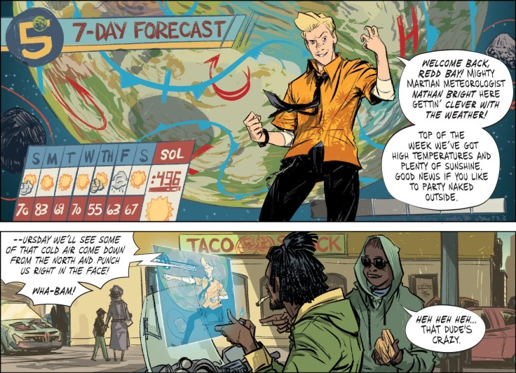 The Weatherman #1 (2018) - Page 11